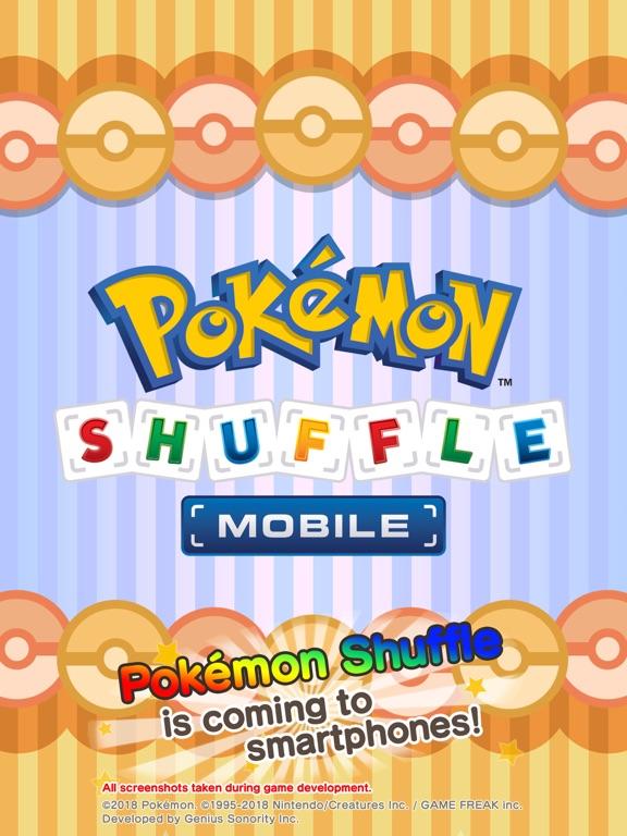Pokémon Shuffle Mobile iPad app afbeelding 1