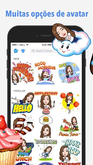 Baixar Seu criador de avatar   Zmoji para Android
