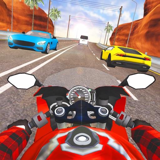Moto Traffic Rider 3D Highway