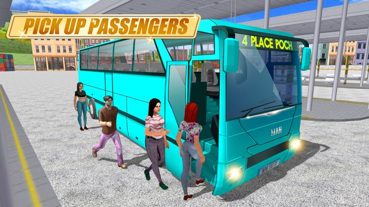 Real Coach Bus Simulator 3D screenshot-4