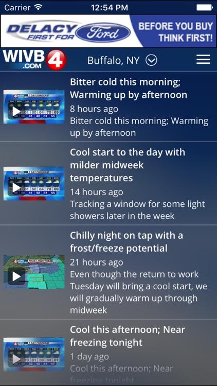 4 Warn Weather - WIVB