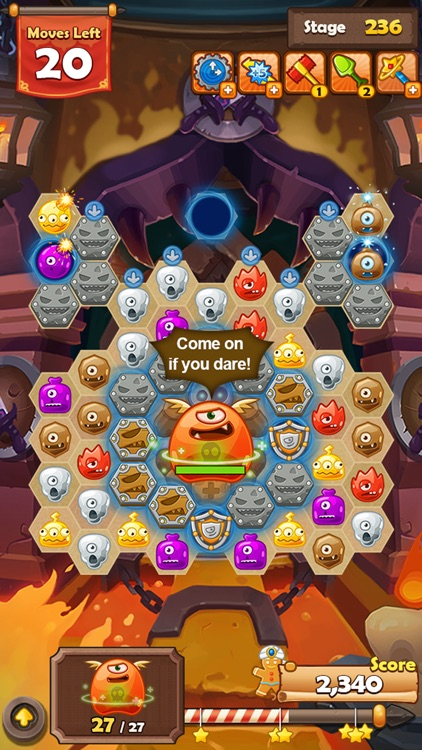 Monster Busters: Hexa Blast screenshot-1