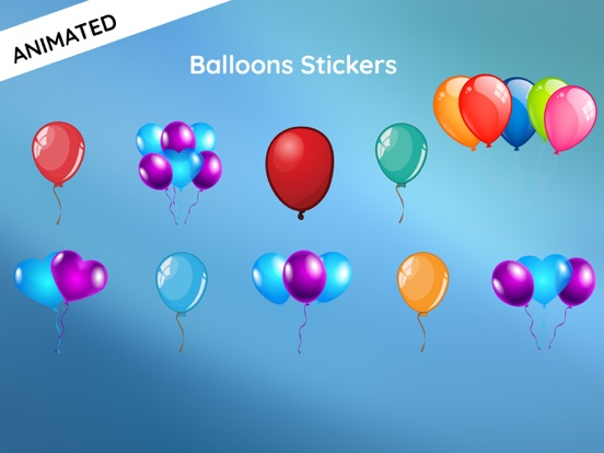 Screenshot 1 For Animated Balloon Birthday Pack