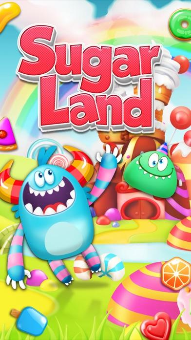 SugarLand - A match 3 puzzle screenshot 5