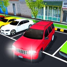 Prado Car Parking City Sim