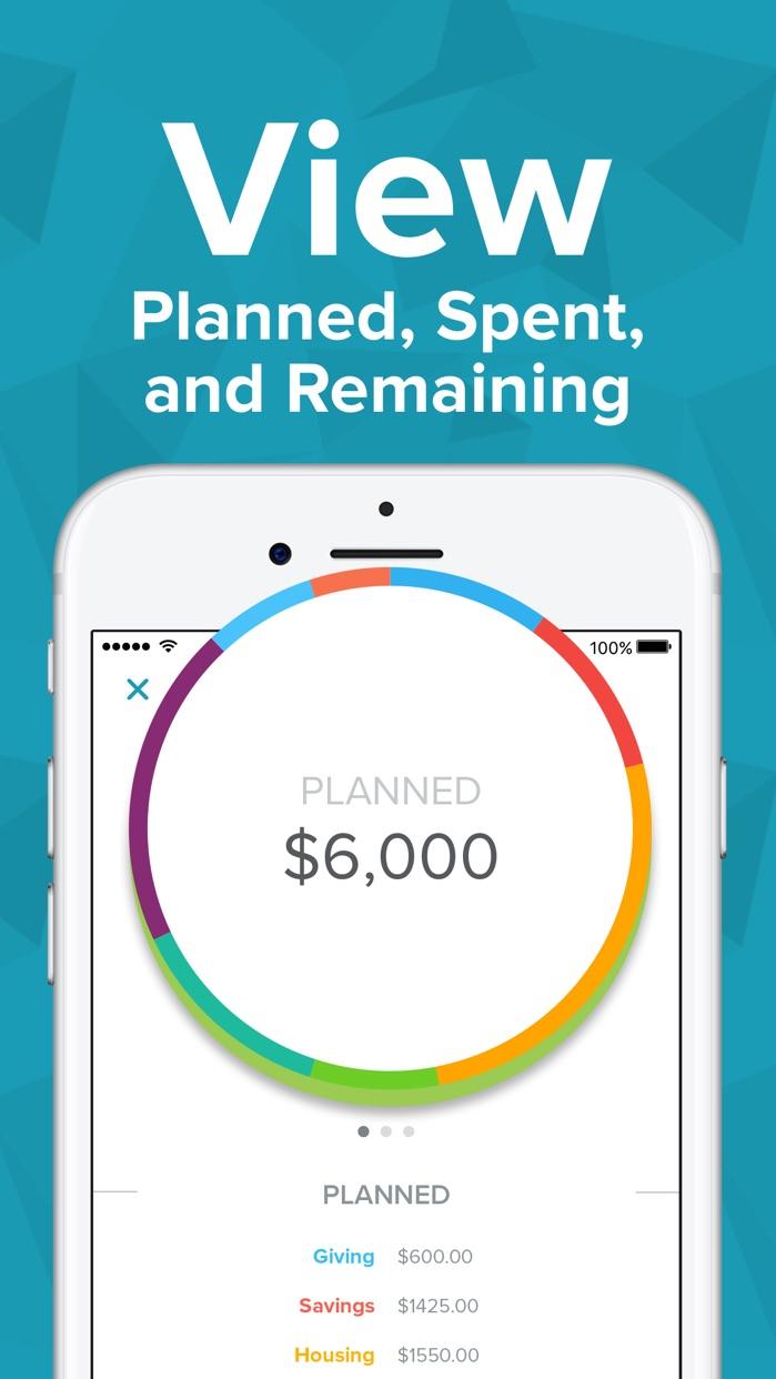 EveryDollar Easy Budgeting App Screenshot