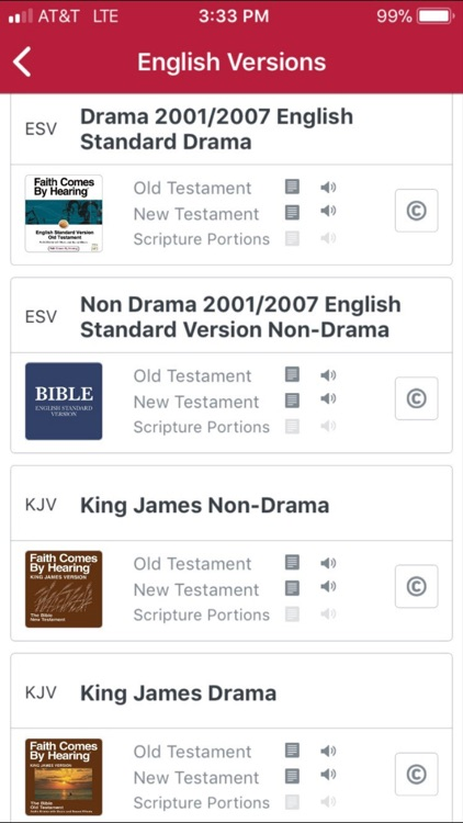 Bible.is - Audio Bibles screenshot-1