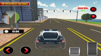 Police Car Chase Street Racers screenshot one