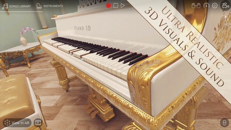 Piano 3D - Real AR Piano App screenshot-0