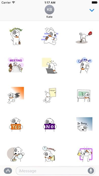 Sealyham Terrier Dog in Office screenshot 1