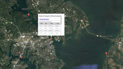 Maryland Tide Chart & Weather Screenshot