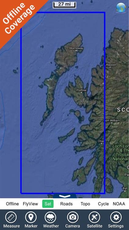 Marine : Hebrides HD - GPS Map Navigator screenshot-4
