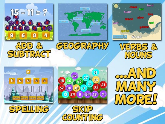 First Grade Learning Games-ipad-1