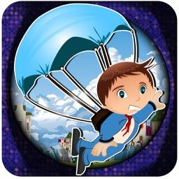 Parachute Hero - Jump And Fall Like A Ninja