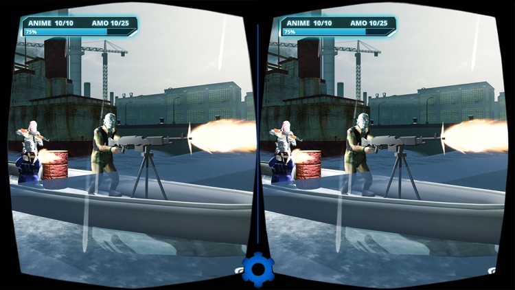 VR Military Battleship War screenshot-2
