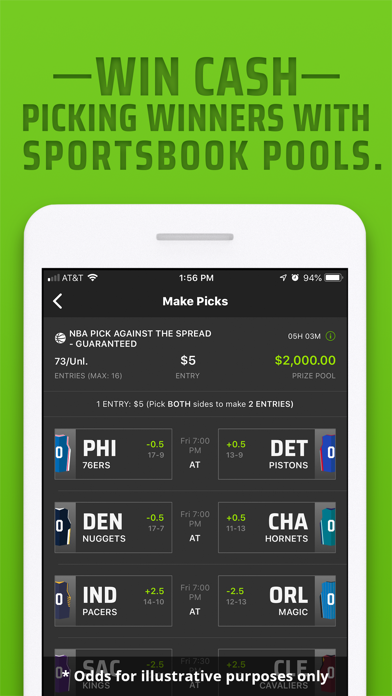 DraftKings Sportsbook & Casino screenshot 3