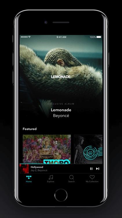 TIDAL screenshot-0
