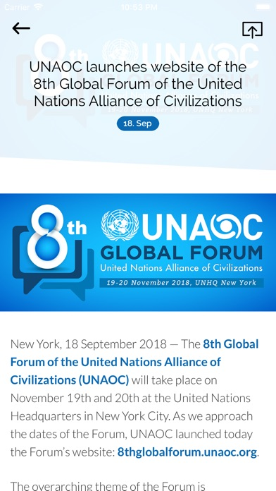 8th UNAOC Global Forum