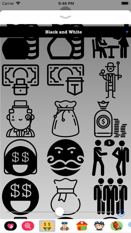 I'm Rich Stickers HD