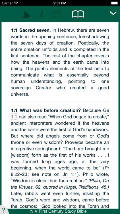 NIV First Century Study Bible