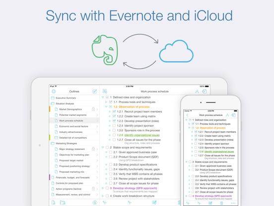Cloud Outliner Pro Screenshots