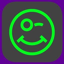 Animated Neon Emoji