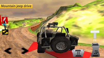 Journey Forest: Driving Jeep screenshot one