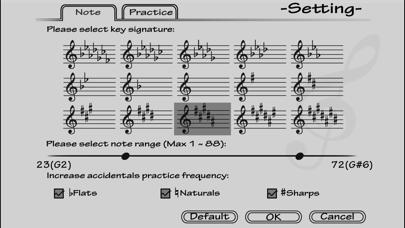 Piano Sight Reading Screenshot