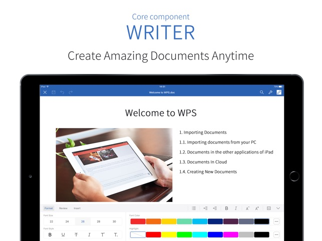 Wps office on the app store wps office on the app store reheart Choice Image