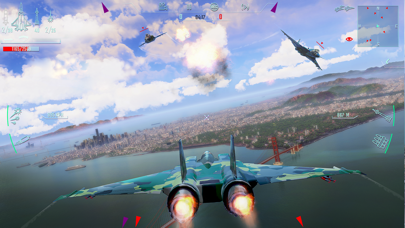 Screenshot from Sky Gamblers - Infinite Jets