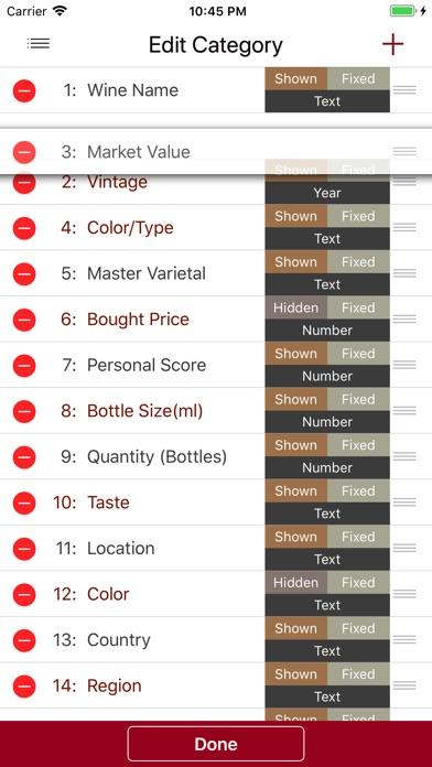Wine Cellar Database Скриншоты7