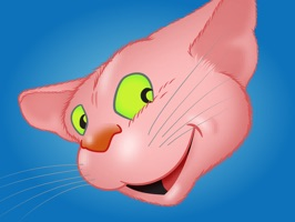 'Pink Cat emoji' is a collection of… cat emoji stickers