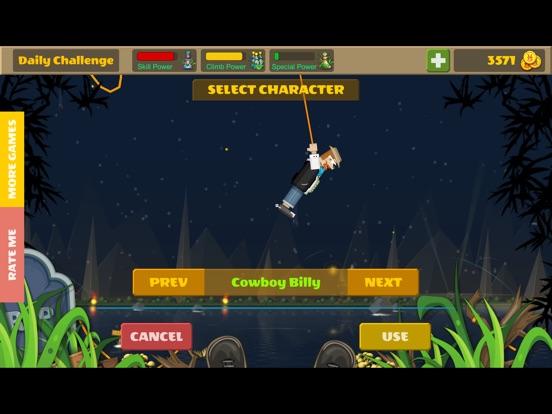 Rope Heroes : Hole Runner Game screenshot 11