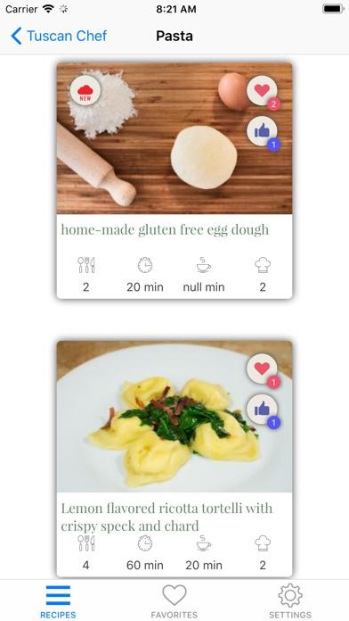 Tuscan Chef review screenshots