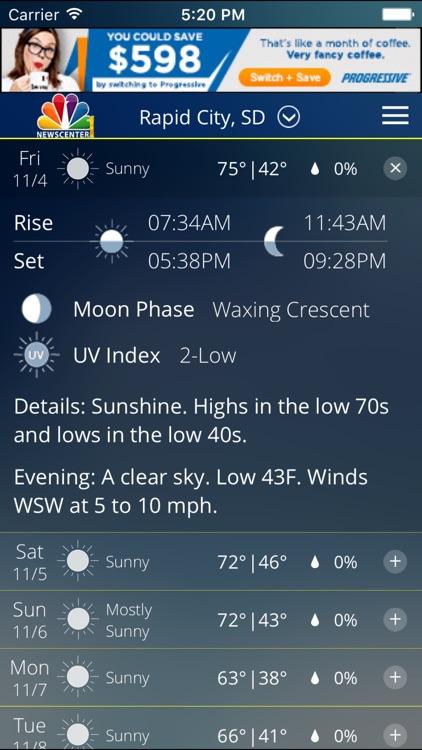 NC1 Weather screenshot-3