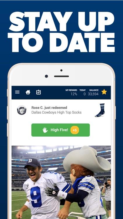 Dallas Football Rewards screenshot-3