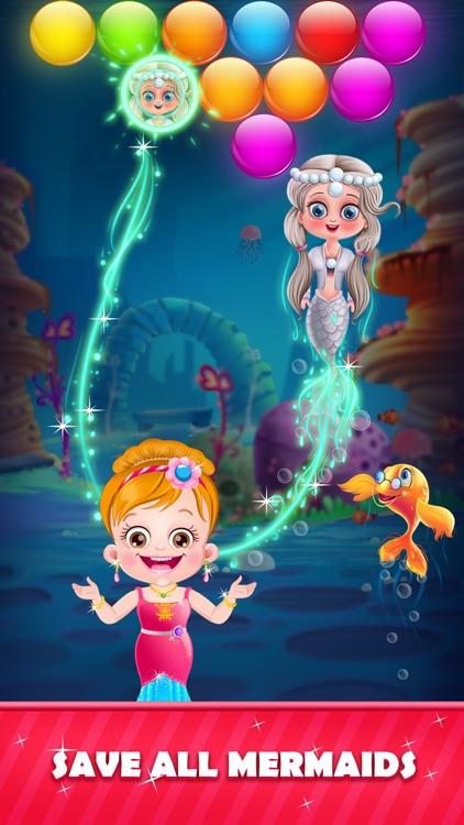 Little Mermaid: Bubble Shooter screenshot-3