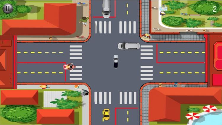 Crazy City Traffic Simulator
