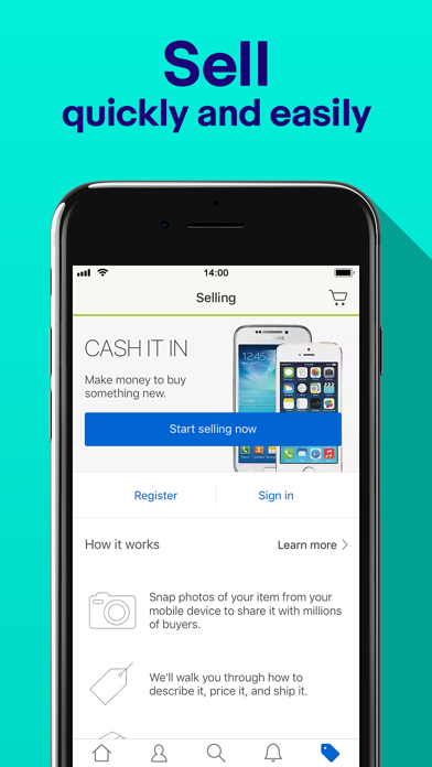Screenshot 3 for eBay's iPhone app'