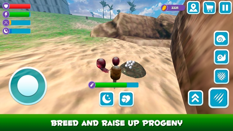 Snail Wild Life Simulator 3D