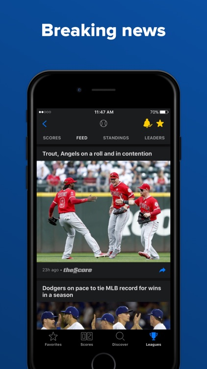 theScore: Sports News & Scores screenshot-3