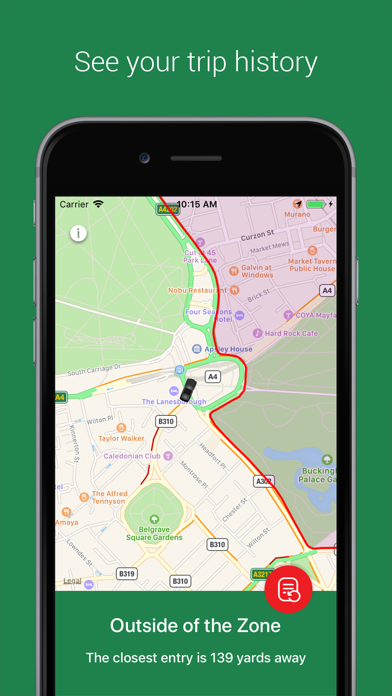 Congestion Zone App screenshot three