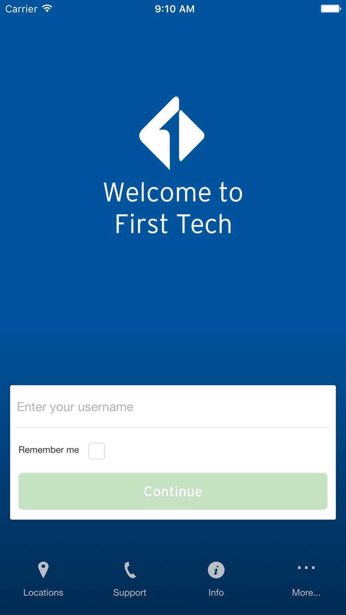First Tech Federal CU Screenshot