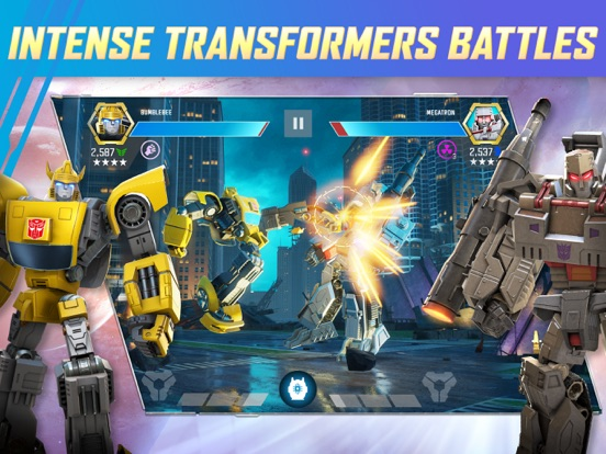 TRANSFORMERS: Forged to Fight iPad