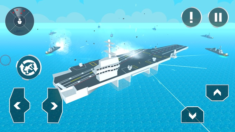 Naval Warship Craft Attack 3D screenshot-3