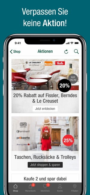 galeria kaufhof shopping im app store. Black Bedroom Furniture Sets. Home Design Ideas