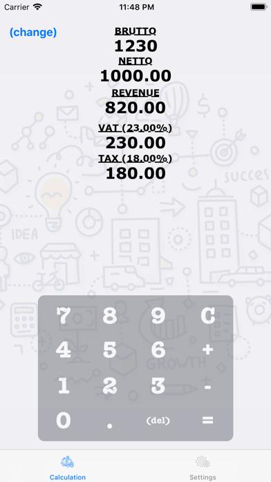 TaxCalc screenshot two