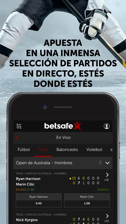 Betsafe apuestas y casino screenshot-2