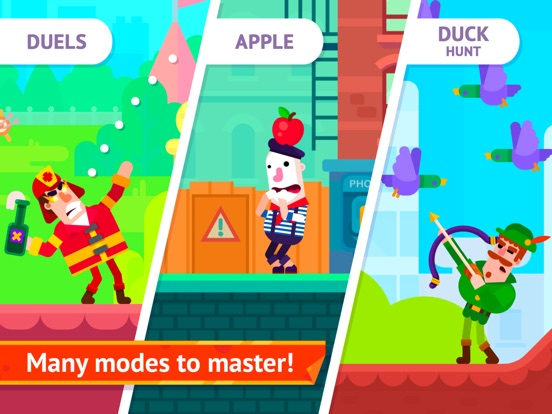Bowmasters - Multiplayer Game iPad