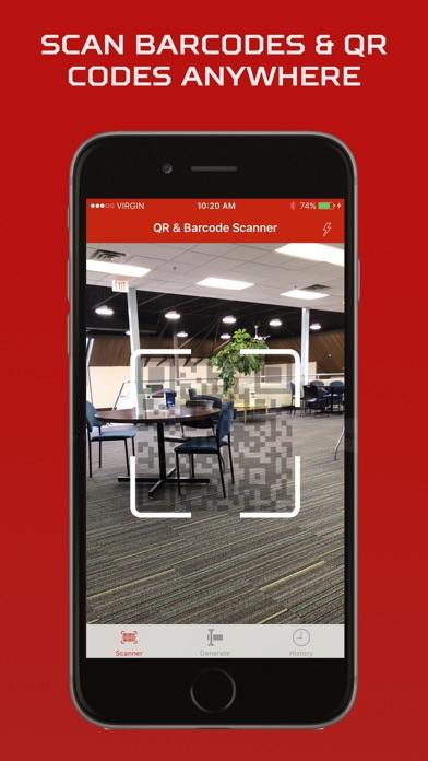 BQR Scanner - Bar & QR Reader Screenshot on iOS
